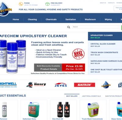 safechem e-commerce wordpress
